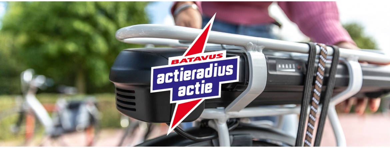 Actieradius actie Batavus