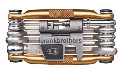 Crank Brothers Multitool gold