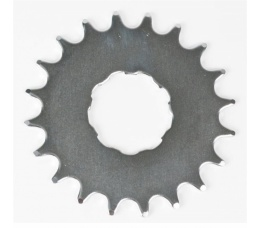 Opsteektandwiel 17t 2,3mm Nuvinci Chroom