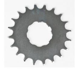 Opsteektandwiel 21t 2,3mm Nuvinci Chroom