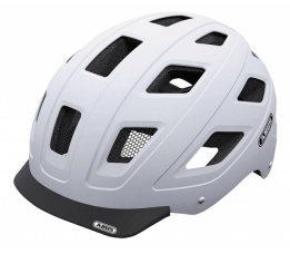 Helm ABUS Hyban Polar matt white L (58-63cm) 37267
