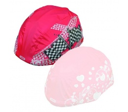 ABUS Regenhoes voor helm rood Boy 52539