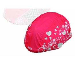 ABUS Regenhoes voor helm rood Girl 52540