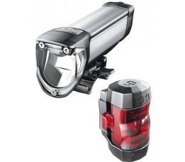 LAMPSET B&M IXON CORE IQ2 USB BATT 50 LUX M/OPL