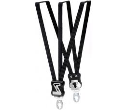 Simson snelbinder zwart 49cm extra kort 3 binder universele asplaat va 20inch