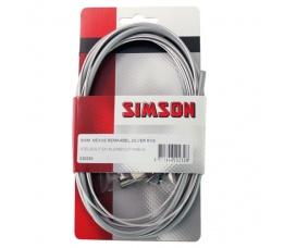 KABEL REM SIMSON SHIMANO NEXUS ZILVER RVS 020230