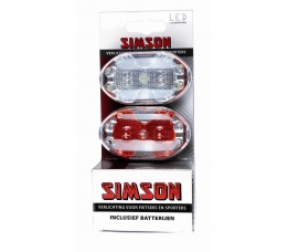 Simson verl set 3 led
