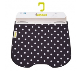 WINDSCHERM WIDEK QIBBEL POLKA DOTS BLACK