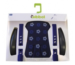 DUO QIBBEL STYLINGSET LUXE ACHTERZITJE ROYAL BLUE