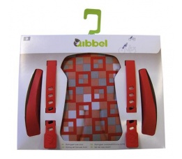 Qibbel Stylingset Achterduo Checked Red
