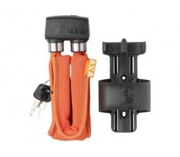 AXA vouwslot 800 Serie 95 cm oranje