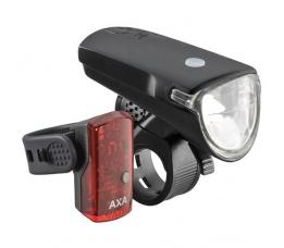 Koplamp + Achterlicht Axa Greenline 35 Lux