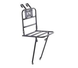 Transport bagagedrager Comfort 30x30  voordrager mat zwart