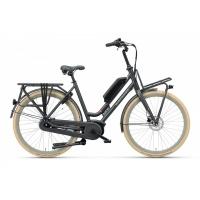 Batavus Quip E-go® Extra Cargo, Zwart mat