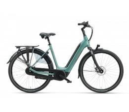 BATAVUS Finez E-go® Power, Petrol Zilver Mat