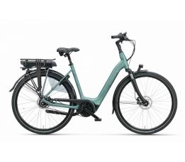 BATAVUS Finez E-go® Exclusive, Petrol Zilver Mat