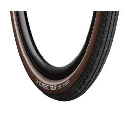 28x1.5 (40-622) Classic Tour zwart/bruin RS 28661