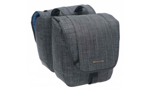 Tas New Looxs Avero double polyester jeans grey 181.224