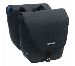 Tas New Looxs Avero double polyester black 181.219