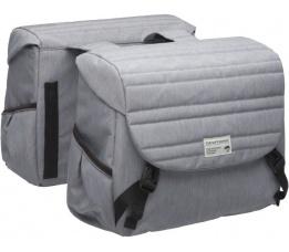 Tas No-218 Dubbel Mondi Quilted Grey