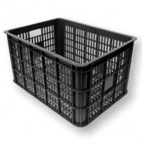 Krat Basil Crate L Zwart 50-liter