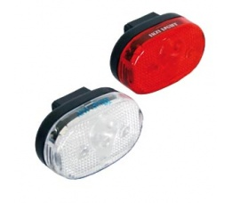 LAMP V+A LED IKZI LIGHT LED SET WIT / ROOD