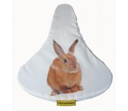 Zadelovertrek nietverkeerd met konijn zadeldekje