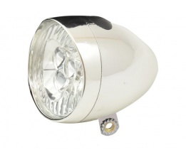LAMP V LED IKZI LIGHT 3LED KOPLAMP RETRO CHROOM